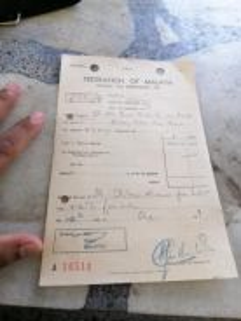 Resit income tax lama