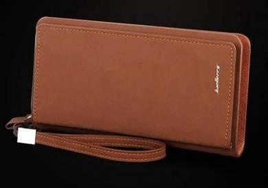Genuine Leather Baellery Men's Wallet Clutch