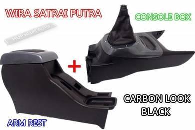 WIRA Arm rest Armrest Console Gear Carbon Look