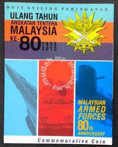 Coin card Malaysia , armed forces