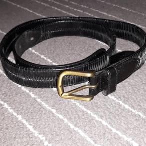 Oroton leather belt