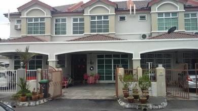 Taman Hijrah Kangar Perlis, teres 2 tingkat