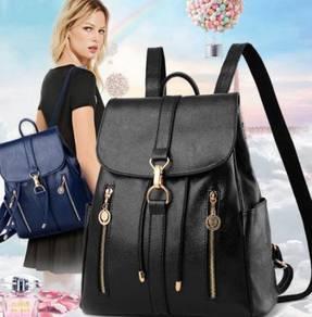 Casual Black Backpack( WBZGW 28548)