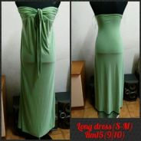 Tube long dress