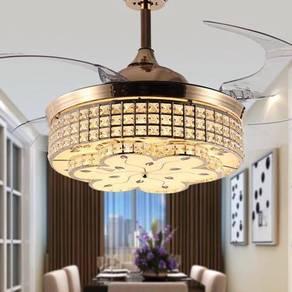 New ceiling fan 3 led lamp