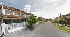 Double Storey Terrace Corner House For Sale at Jalan Stapok Selatan