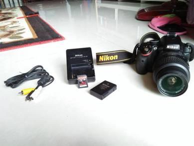 Nikon 5100 Camera DSLR