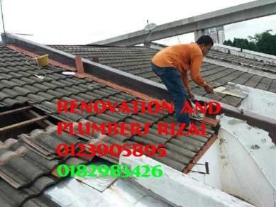 Repair roof leaks solaris dutamas