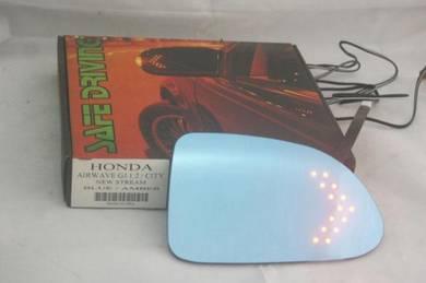 Honda Stream 05 / 09 Blue Side Mirror w LED Signal