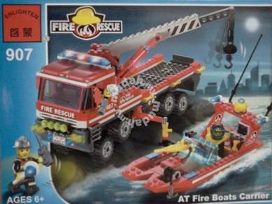 Bricks - Enlighten 907 AT Fire Boat Bomba