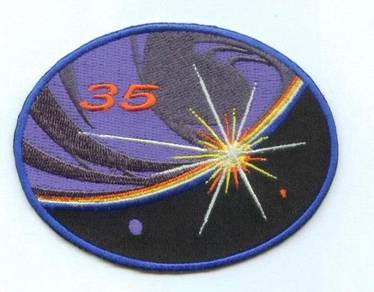 ISS Expedition 35 International Space Patch