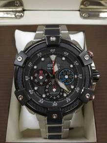 Seiko velatura automatic chronograph japan nos