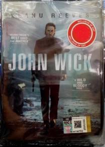 DVD John Wick Keanu Reeves