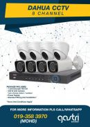 CCTV 8 Channel Pakage 2mp with Installation