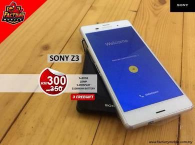 Sony xperia Z3 3+32GB Snapdragon