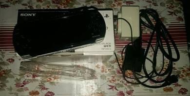 PSP 3000 black colour