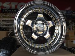 Sport Rim Work S1 SUPER CHROME 15x8JJ DEEP LIP