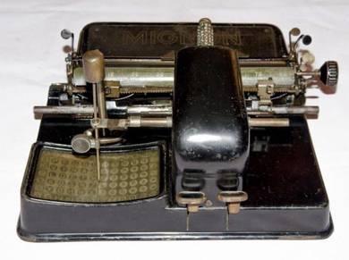 Mignon aeg model 3 1918 indexwriter