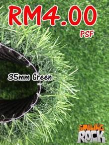 Artificial Grass / Rumput Tiruan 35mm Green 104
