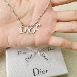 Original dior necklace / rantai / jewellery