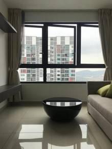 Isuite i suite i city 2r1b apartment murah untuk sewa, uitm shah alam