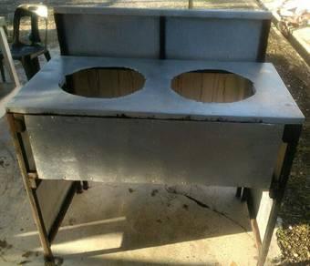 Dapur lipat pre stainless steel