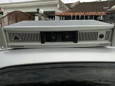 Beringer power amplifier