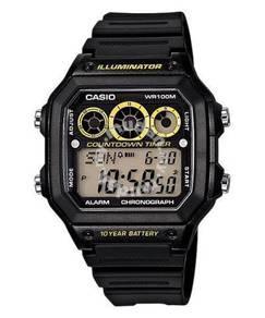 Watch - Casio Chronograph AE1300-1A -ORIGINAL