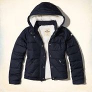 Hollister jacket with hoody.