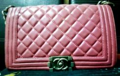 Bag Chanel Mini Boy Bag (Pink)