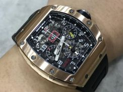 Richard Mille RM011 Rose Gold Year 2016-Swiss Hour