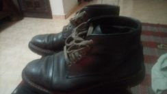 timberland,,black,,leather shoes