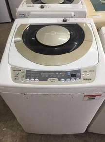10kg at washing machine toshiba mesin basuh top