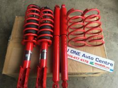 Used proride absorber with d2 sport spring myvi