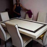 Marble Concrete Dining Table