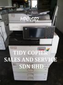 Machine color photocopier mpc4502