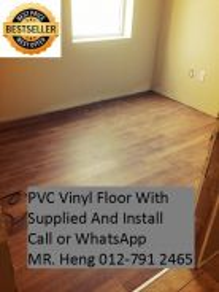 Wood Look PVC 3MM Vinyl Floor bgy8ike44