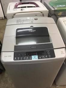 Hitachi 10.5kg mesin basuh washing machine auto