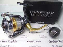 SHIMANO TWIN POWER SW6000XG fishing pancing reel