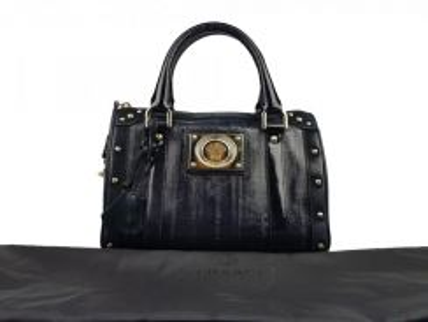 Versace Anguilla Black Boston Bag