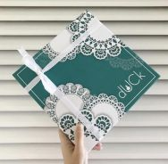 The doily duck scarves