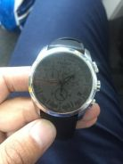 Tissot Tachymeter Leather Strap with hook
