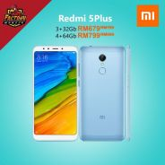 Xiaomi redmi 5 Plus 32_64gb Rom 3_4gb Ram MY set
