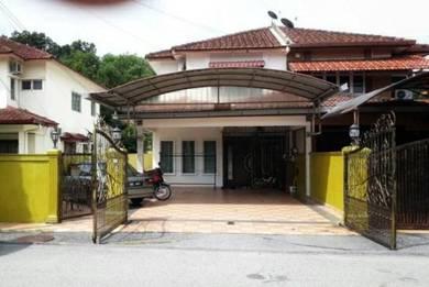 Double Storey Semi D House, Taman Bukit Chedang, Seremban