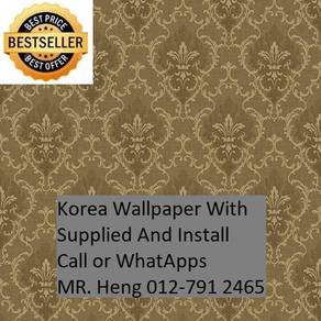 Classic Wall paper with installation 65rd