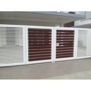 Folding gate with mild steel
