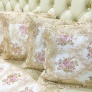 5 Embroidery Cushion Cover & Table Runner