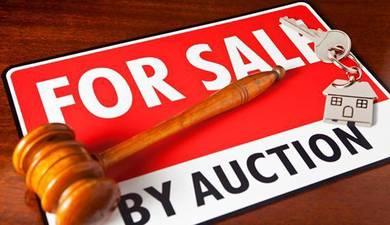 Bank Auction 50 Ekar Tanah di Talang Terachi Kuala Pilah