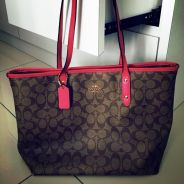 Pre-loved Authentic Coach Totebag
