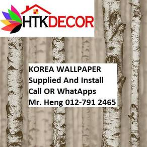 Pretty Wall covering with Installation 4E1B
